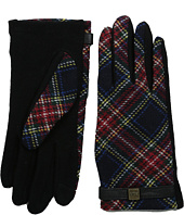 LAUREN by Ralph Lauren - Tartan Logo Cube Touch Glove