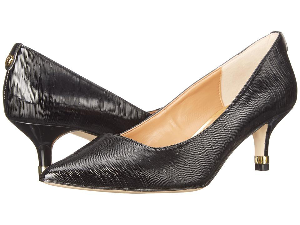 J. Renee Braidy Black Womens 1 2 inch heel Shoes