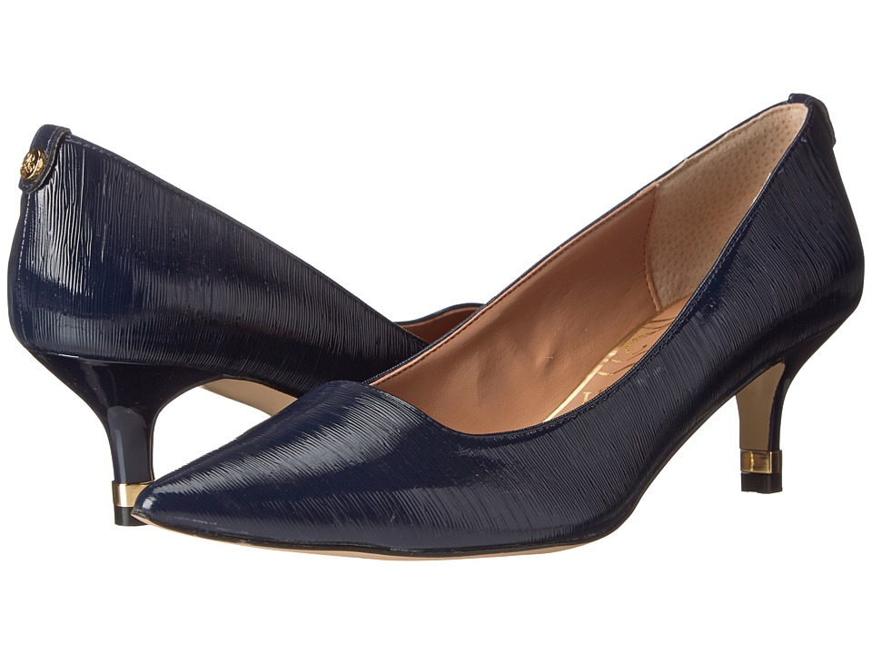 J. Renee Braidy Navy Womens 1 2 inch heel Shoes