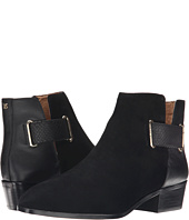 Yosi Samra - Drew Suede Boot with 3D Croco Detail