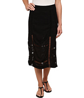 Free People - Solid Jacquard Love Will Save You Skirt