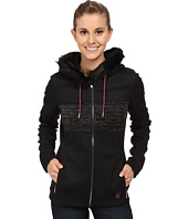 Spyder - Soiree Hoodie Faux Fur Mid Weight Core Sweater