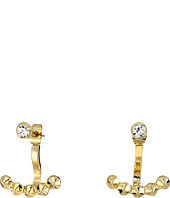 Rebecca Minkoff - Two Part Stud Crystal Earrings