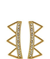 Rebecca Minkoff - Triangle Climber Earrings