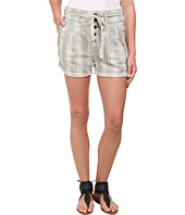 Free People - Gingham Yarn-Dyed Beachy Stripe Shorts