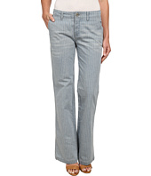 Free People - Railroad Stripe Flare Jeans