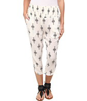Free People - Printed Rayon Gauze Diamond Harem Pant