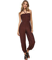 Free People - Striped Rayon Balloon One-Piece Romper