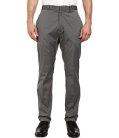 Perry Ellis - Slim Fit Cotton Flat Front Dress Pants