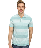 Perry Ellis - Textured Stripe Polo