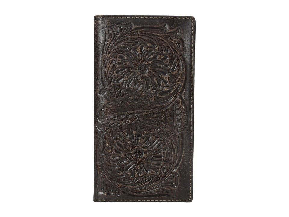 Ariat - Floral Embossed Rodeo Wallet