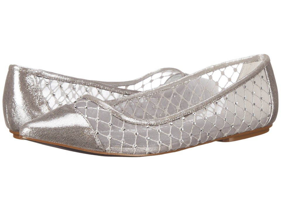 Adrianna Papell Jewel Silver Sterling Womens Flat Shoes