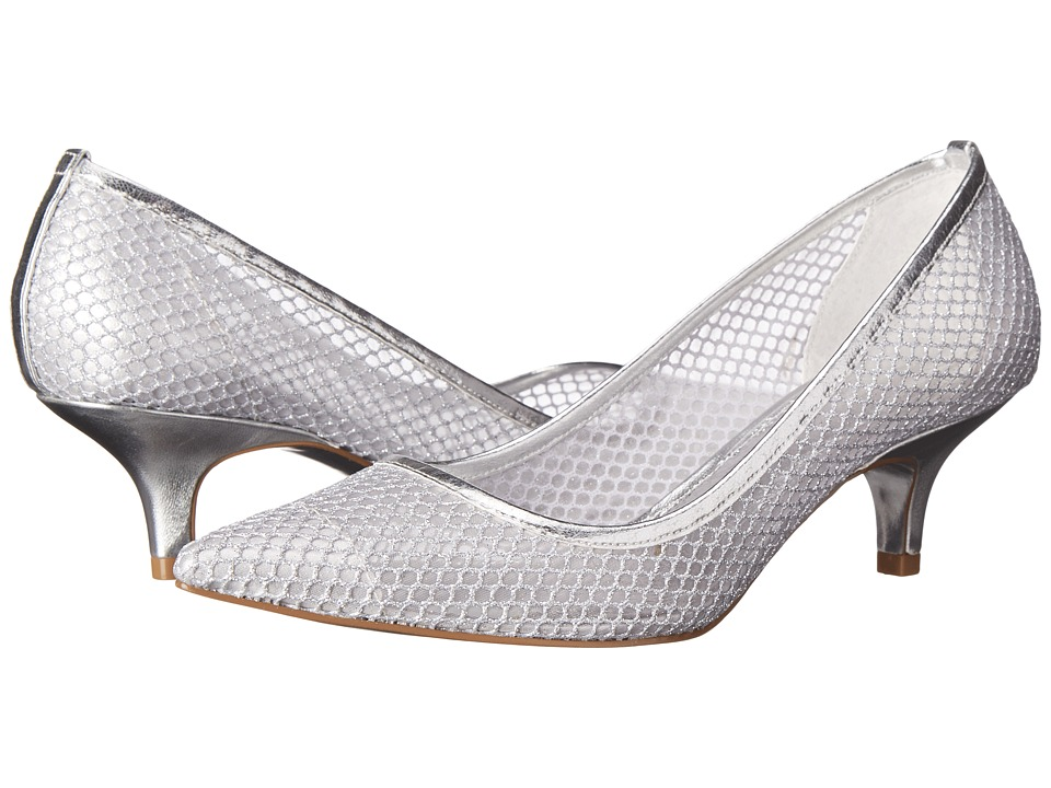 Adrianna Papell Lois Silver High Heels