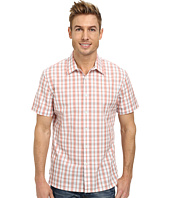 Perry Ellis - Short Sleeve Plaid Pattern Shirt