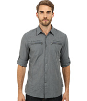 John Varvatos Star U.S.A. - Double Zipper Pocket Shirt W192R2B