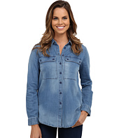 KUT from the Kloth - Lightweight Button Down Boyfriend Top