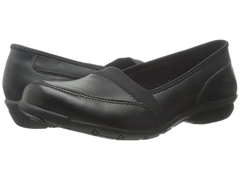 SKECHERS Work Buras Black Womens Shoes