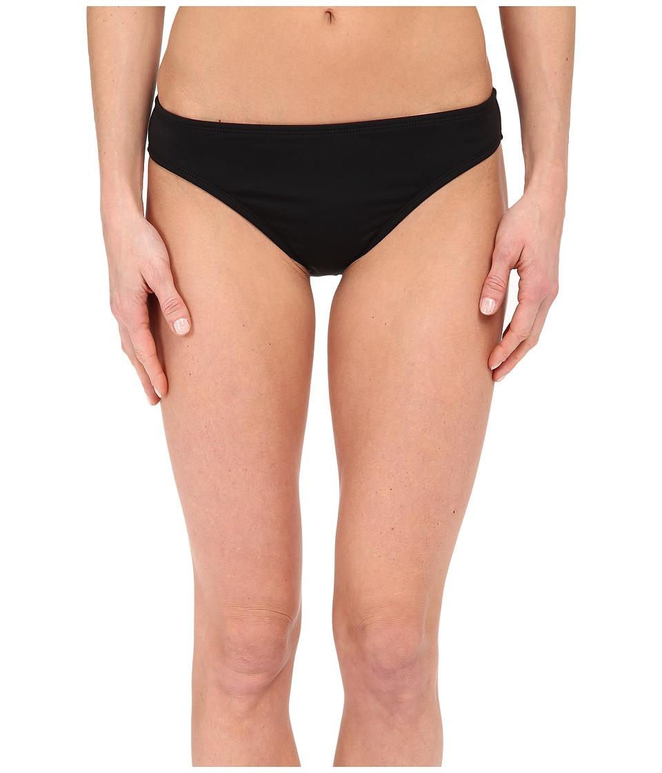 La Blanca Island Goddess Solid Hipster Bottom (Black) Women