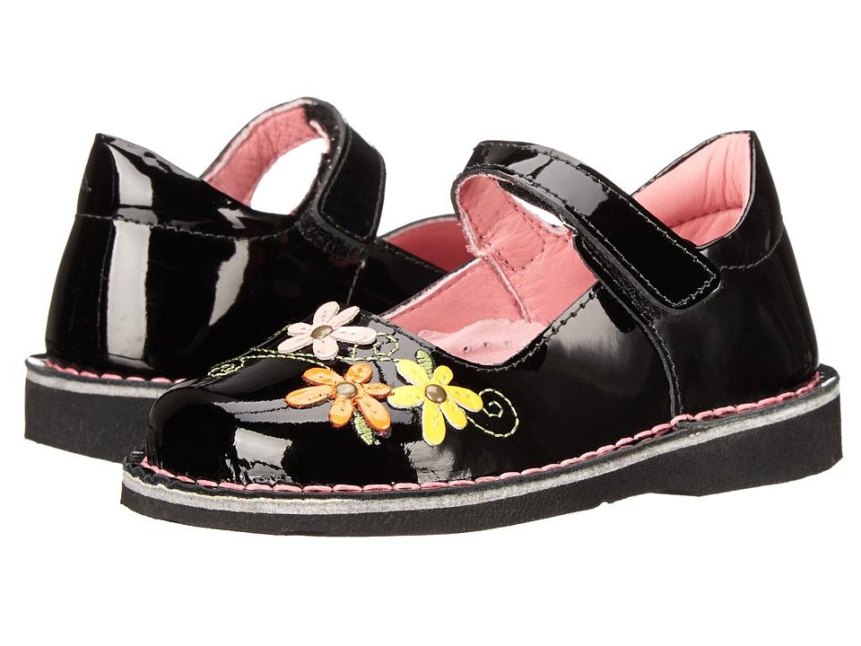 Kid Express Lilian Toddler/Little Kid/Big Kid Black Patent Girls Shoes