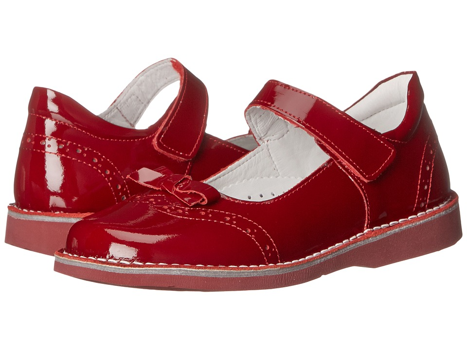 Kid Express Kenzie Toddler/Little Kid/Big Kid Cherry Patent Girls Shoes