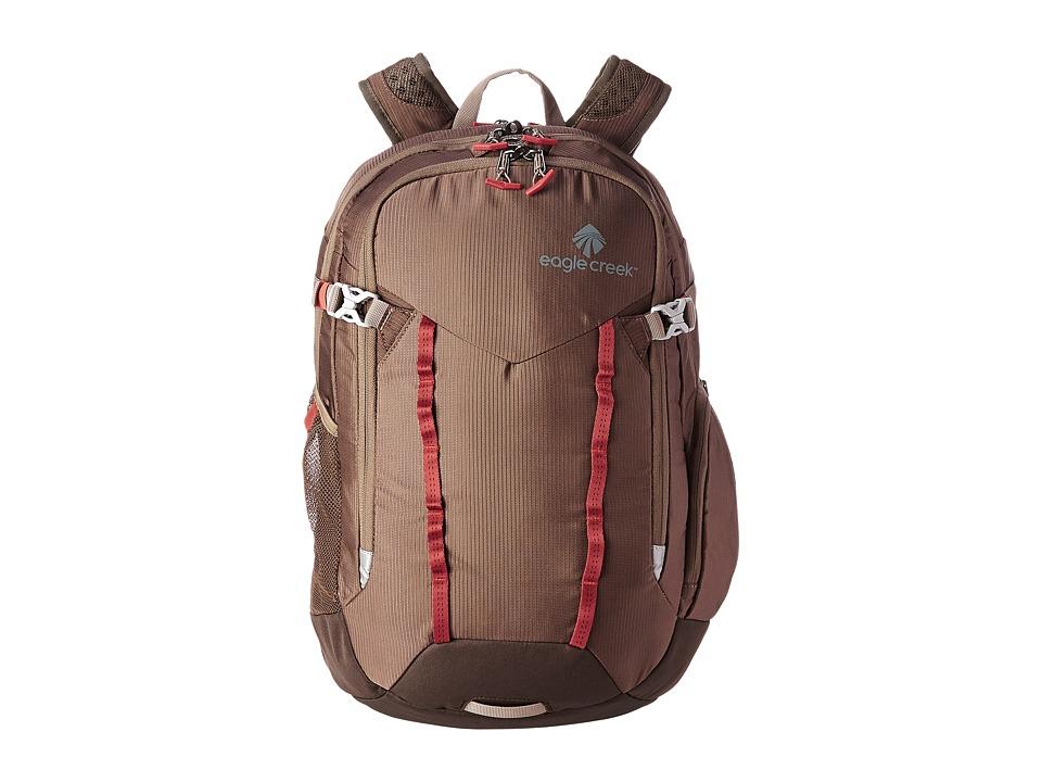 Eagle Creek - Universal Traveler Backpack RFID (Brown) Backpack Bags