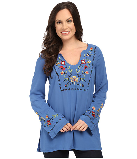 Roper 0019 Solid Rayon Peasant Blouse