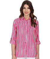 Anne Klein - Striped Roll Sleeve