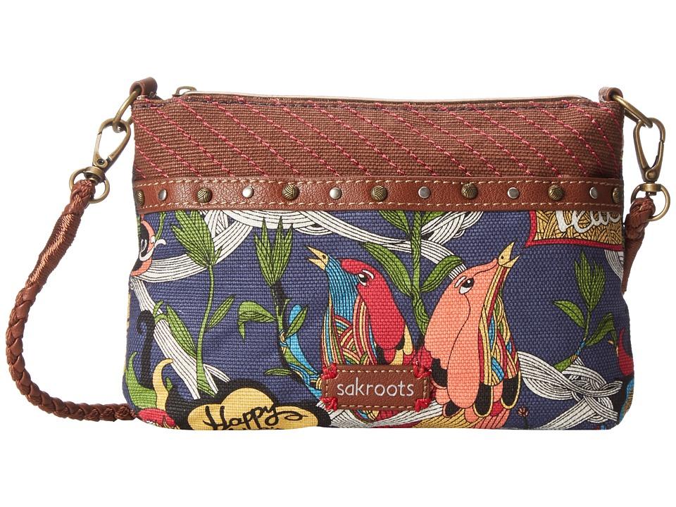 Sakroots - Artist Circle Campus Mini (River Peace) Cross Body Handbags