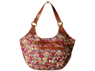 Sakroots Artist Circle East West Satchel (Mulberry Treehouse)