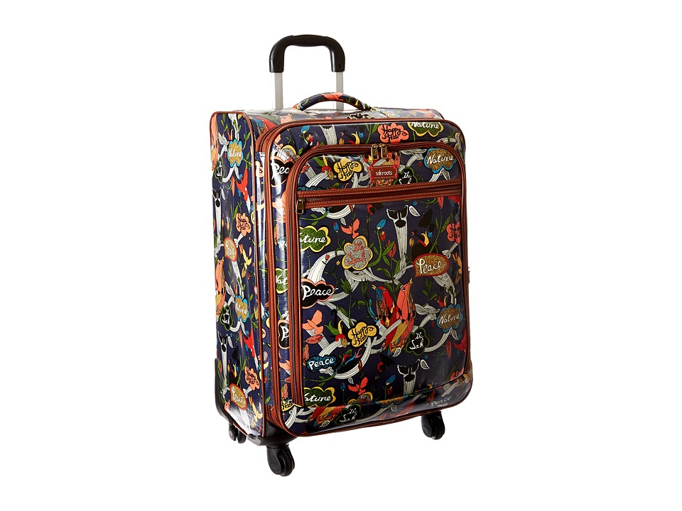 Sakroots - Artist Circle 26 Suitcase (River Peace) Carry on Luggage