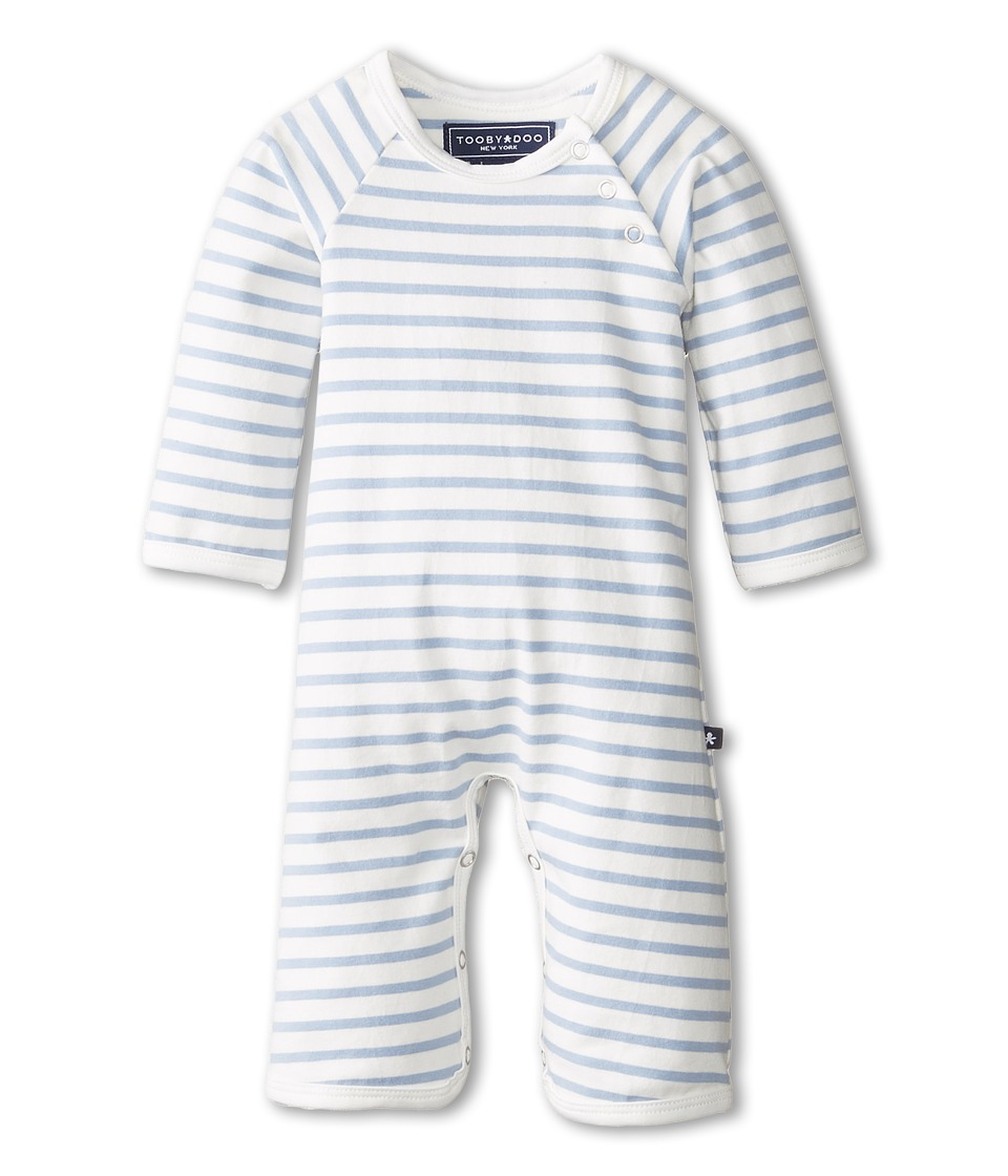 Toobydoo - Chelsea Bootcut Jumpsuit (Infant) (Light Blue) Kids Jumpsuit & Rompers One Piece