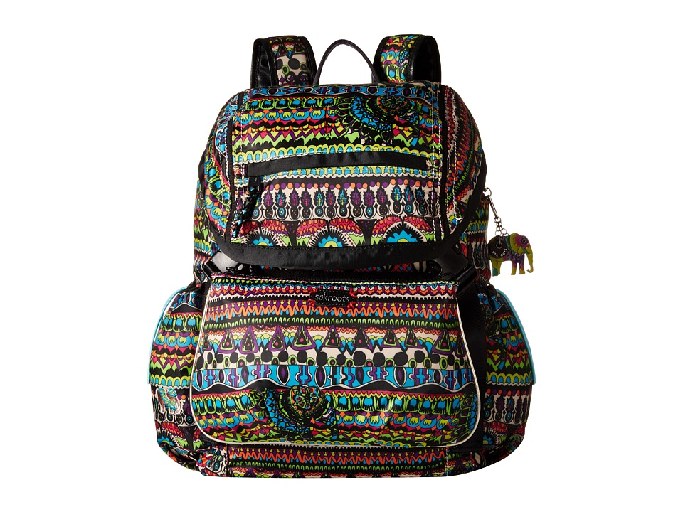 Sakroots Artist Circle Utility Daypack Radiant One World Day Pack Bags