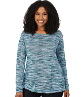 Roper - Plus Size 0156 Marbled Sweater Jersey Top