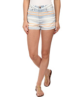 Joe's Jeans - High Rise Rolled Shorts in Tandier Bay Stripe