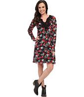 Roper - 9906 Printed Mesh Dress