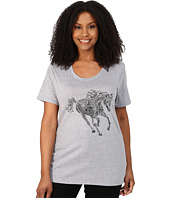 Roper - Plus Size 9917 Light Weight Heather Jersey Tee