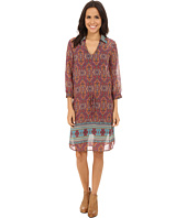 Stetson - Medallion Print Chiffon Dress