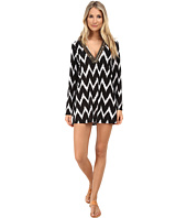 La Blanca - Night Waves V-Neck Tunic Cover-Up