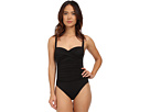 La Blanca Island Goddess Over the Shoulder Sweetheart Mio One-Piece