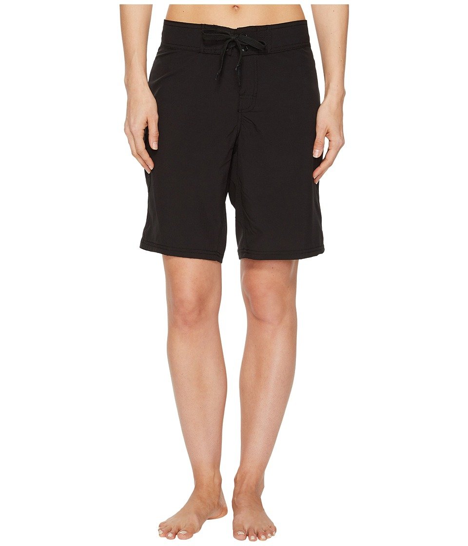 La Blanca - All Aboard 5 Boardshorts (Black) Womens Shorts