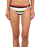 LAUREN by Ralph Lauren - Horizon Engineered Stripe Ring Front Hipster Bottoms