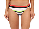 LAUREN Ralph Lauren Horizon Engineered Stripe Ring Front Hipster Bottoms