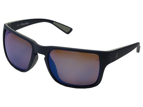 Zeal Optics Cascade - Navy Blue/Horizon Blue Polarized Lens
