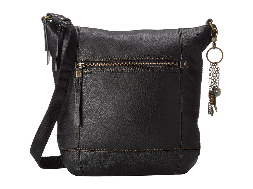 The Sak - Sequoia Crossbody (Black) Cross Body Handbags