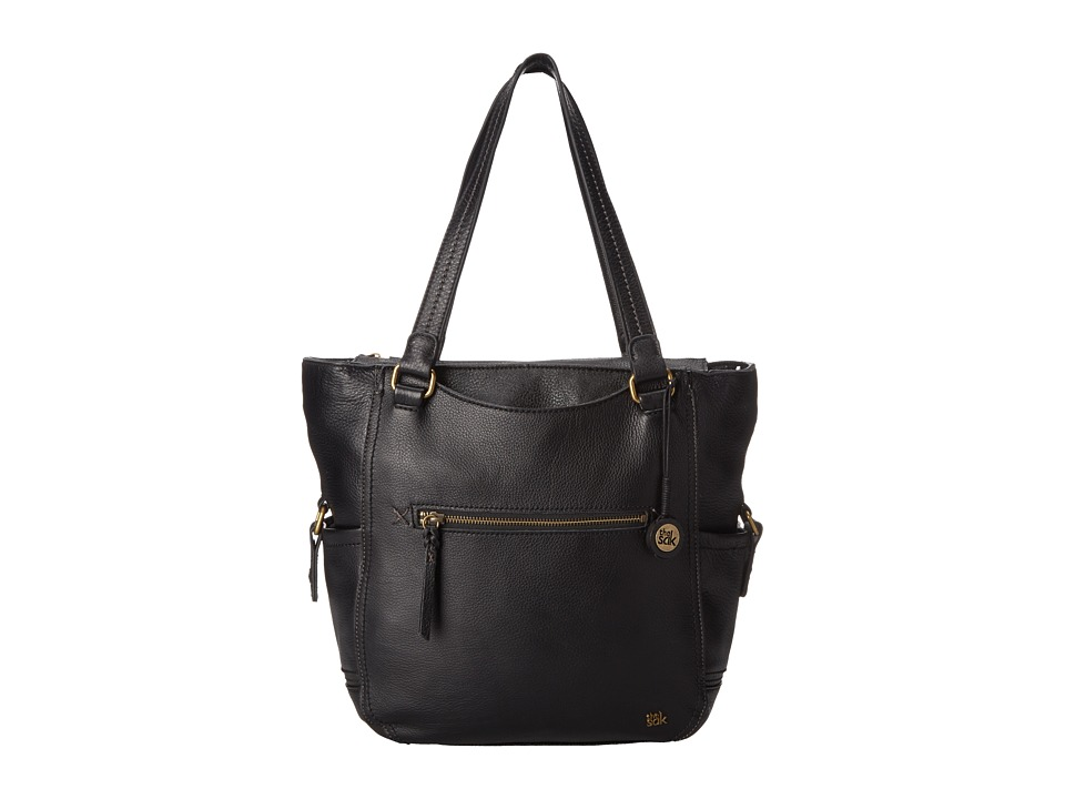 The Sak Kendra Work Tote (Black) Tote Handbags