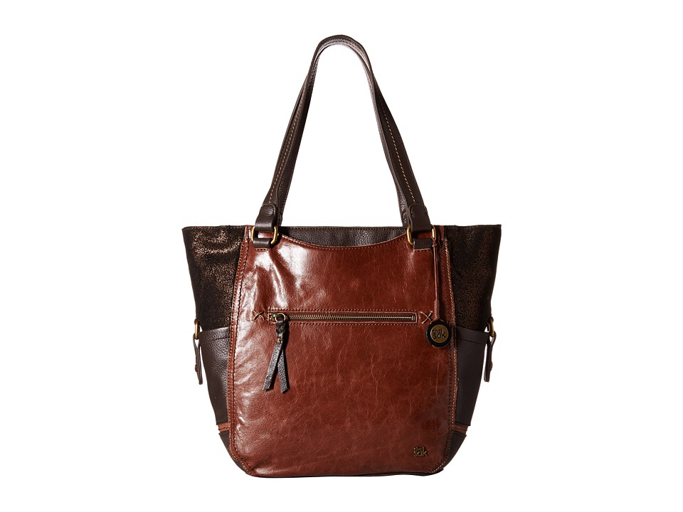 The Sak - Kendra Work Tote (Teak Multi) Tote Handbags