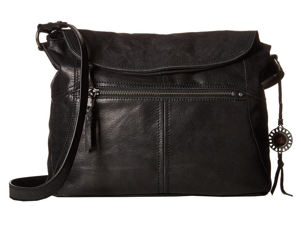 The Sak - Esperato Flap Hobo (Black) Hobo Handbags