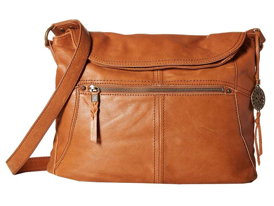 The Sak - Esperato Flap Hobo (Tobacco) Hobo Handbags