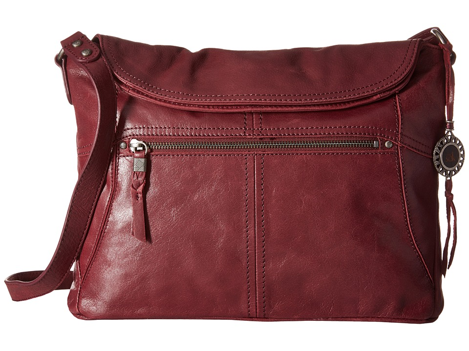 The Sak - Esperato Flap Hobo (Cabernet) Hobo Handbags
