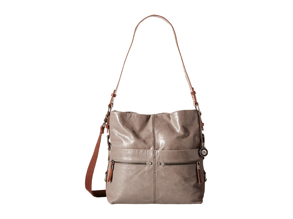 The Sak - Sanibel Bucket (Charcoal) Satchel Handbags